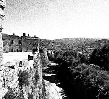 Agropoli: castle and landscape by Giuseppe Cocco