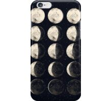 Moon Cycle iPhone Case/Skin