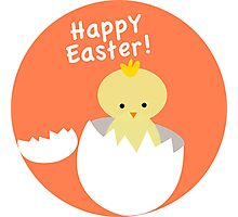 Happy Easter from Chicky! Photographic Print