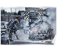 Fireman Lucis Art Style Poster