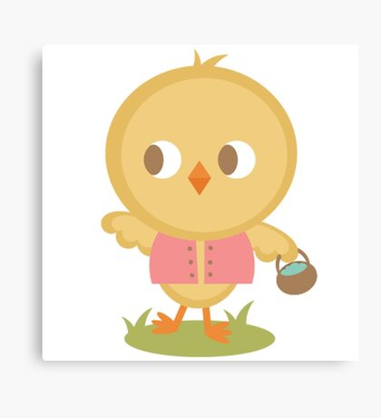 Chick Hunt Canvas Print