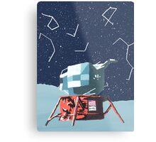 Apollo Moon Landing Metal Print
