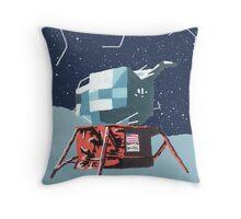 Apollo Moon Landing Throw Pillow