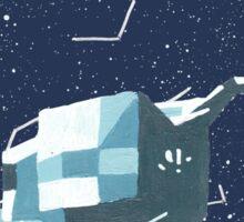 Apollo Moon Landing Sticker