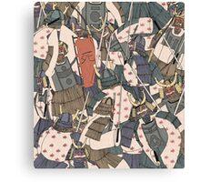 Samurai Ghosts Canvas Print