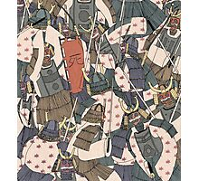 Samurai Ghosts Photographic Print
