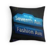 Fashion Avenue Throw Pillow