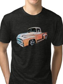 Ford Pickup on White Bread from VivaChas! Tri-blend T-Shirt