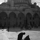 The Sultan Ahmed Mosque by Nick  Gill