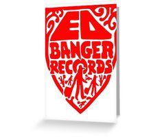 Ed Banger Records - Old Logo Greeting Card