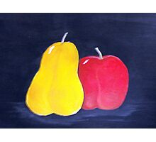 Apple or Pear Photographic Print