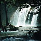 'El Chiflón' waterfall of Chapas by annalisa bianchetti