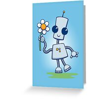Ned's Flower Greeting Card