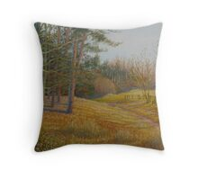 The Path to the Tweed. Throw Pillow