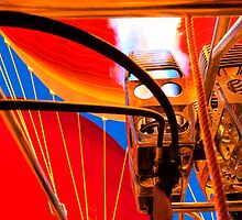 Hot Air Balloon Burners Ignited by Mark Tisdale
