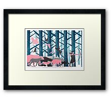 Hunting Framed Print