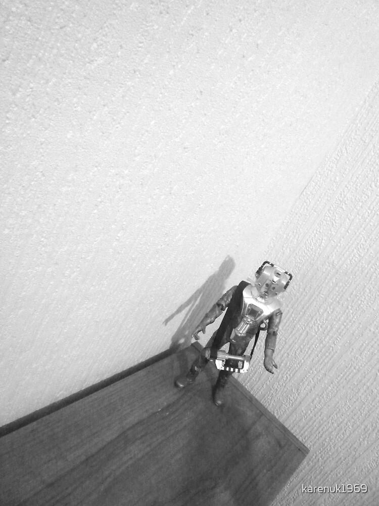 The Lonely Cyberman by karenuk1969