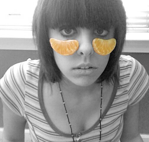 Crying Oranges.. by Shelby Denton