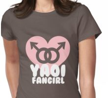 Yaoi Fangirl! Womens Fitted T-Shirt