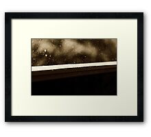 Attractive force Framed Print