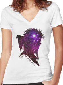The Stars Women's Fitted V-Neck T-Shirt