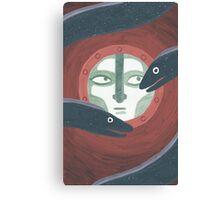 Eels Canvas Print