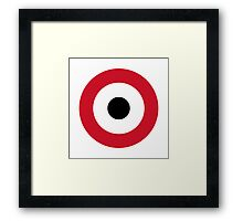 Egyptian Air Force - Roundel Framed Print