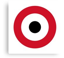 Egyptian Air Force - Roundel Canvas Print