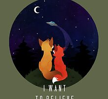 I Want To Believe by Sutexii