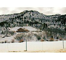 """Winter in Utah"" Photographic Print"