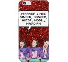 Miranda Sings - Singer, Actor, Dancer, Model, Magician iPhone Case/Skin