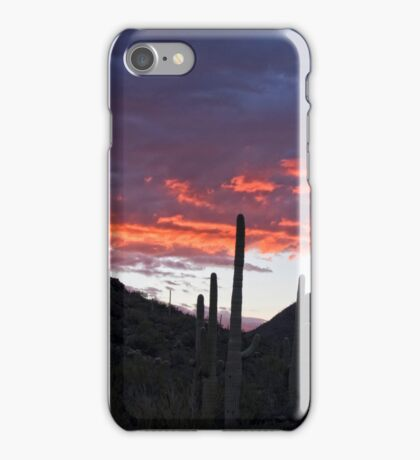 Sundown Tucson  iPhone Case/Skin