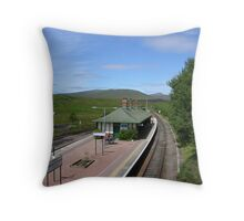 Rannoch Station Throw Pillow