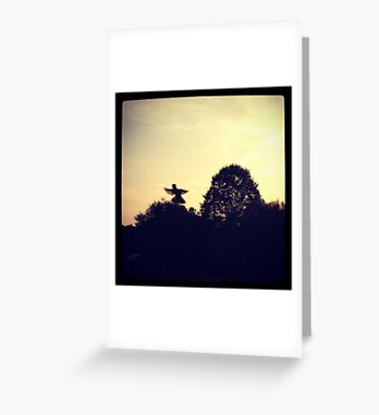 Little Winged Friend Greeting Card