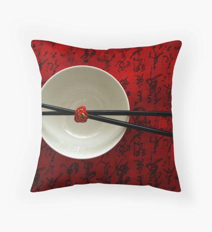 Chopsticks Throw Pillow