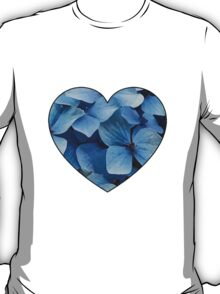 Blue hearts T-Shirt