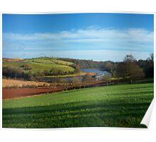 Devon: The River Dart, Near Sharpham Poster