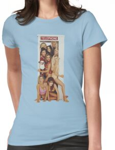 Seinfeld Playboy Booth Womens Fitted T-Shirt