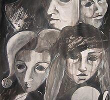 CARNIVAL TIME IN VENICE  by GittiArt