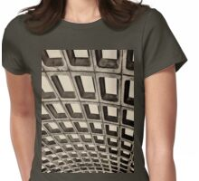 Subway Ceiling Womens Fitted T-Shirt