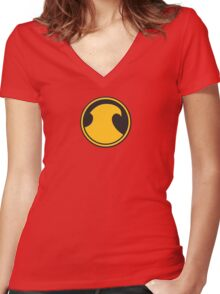 The Tim of the 52 Women's Fitted V-Neck T-Shirt