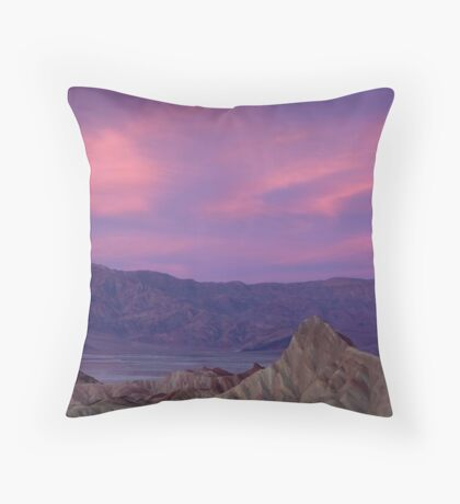 Morning's Color | Death Valley  Throw Pillow