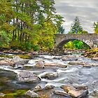 The Falls Of Dochart, Killin, Scotland. by Jim Wilson