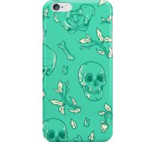 Bones and Leaves iPhone Case/Skin