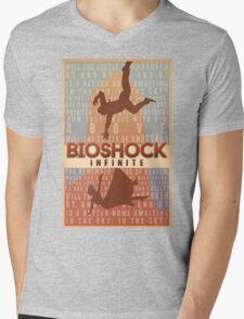 Bioshock Infinite - Will the Circle Be Unbroken? Mens V-Neck T-Shirt