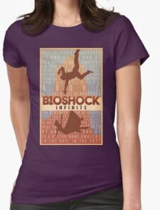 Bioshock Infinite - Will the Circle Be Unbroken? Womens Fitted T-Shirt