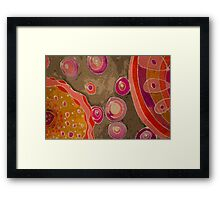 Cotton Candy Galaxy Framed Print