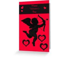 Valentine Cupid Greeting Card