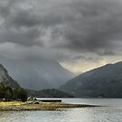 Leaving the Sognefjord. by Larry Lingard-Davis