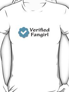 """Verified Fangirl"" T-Shirt"
